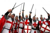 England rugby fans
