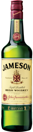 Jameson Irish Whiskey bottleJameson Irish Whiskey Bottle