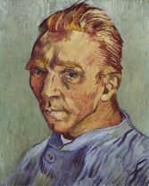 Van Gogh's last self-portrait, sent to his mother as a gift
