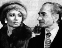 The Shah and Empress Farah shortly before leaving Iran in 1979 during the height of the Iranian revolution.