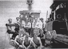HMS Sirdar came through its brush with the mud and went to have a distinguished war in the Pacific