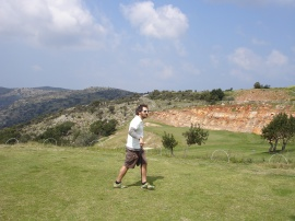 Searching for his inner zen at Crete Golf Club