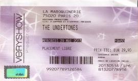 Undertones ticket 001