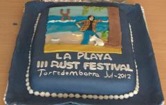 Rustfest cake 2012