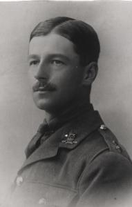 Second Lieutenant RG Cookson in May 1916 (Spender family collection)