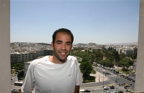 Sampras In Athens For The First Time In 2007 Ap Photo Thanassis Stavrakis