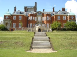 Pangbourne College: the imposing Devitt Housewas home to Harbinger and a young Angus Thomas