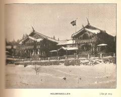 The hotel at Holmenkollen