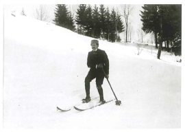Abel Rossignol was a carpenter who spotted a gap in the market. He travelled from Chartreuse to Norway to learn about skiiing and then In 1907 in his Voiron workshop, he set upp what was to become a leading ski and skiwear company