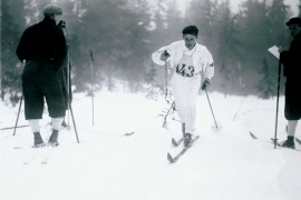 Holmenkollen has been a home for cross country skiing since 1892 (Holmenkollen Ski Museum)