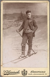 "Fridtjof Nansen. A renowned adventurer and later a ""peacemaker"", Nansen was a passionate skier."