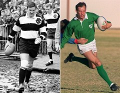 Noel and Kenny Murphy are another father-son international combination with the added twist that Noel's father also played for Ireland