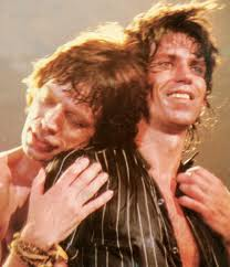 Jagger and Richards: they may argue and fight but they they remain as close as brothers