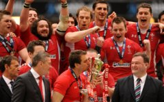 Sweet victory for Wales captain Sam Warburton