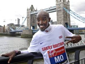 Mo Farah will be leading the way in this year's London Marathon