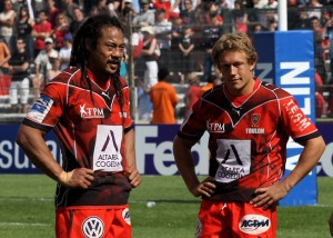 Tana Umaga and Jonny Wilkinson: two of the biggest influences on Bastereaud